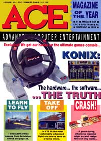 ACE Issue 25 - click the page numbers below to read the Konix articles in a new window