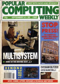 Popular Computing Weekly September 14th - 20th - click the page numbers below to read the Konix articles in a new window
