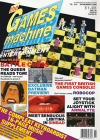 The Games Machine Issue 12 - click the page numbers below to read the Konix articles in a new window