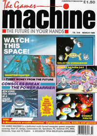 The Games Machine Issue 16 - click the page numbers below to read the Konix articles in a new window