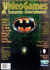 Video Games and Computer Entertainment Issue March 1990 - click the page numbers below to read the Konix articles in a new window