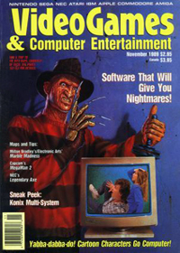 Video Games and Computer Entertainment Issue Nov 1989 - click the page numbers below to read the Konix articles in a new window